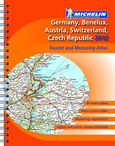 Atlas Germany, Benelux, Austria, Switzerland, Czech Republic 2012 By Michelin