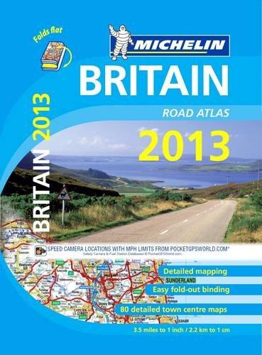 Britain Atlas 2013 By Michelin