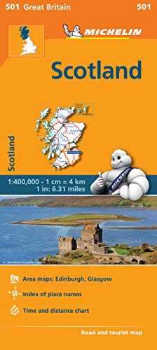 Scotland - Michelin Regional Map 601 By Michelin