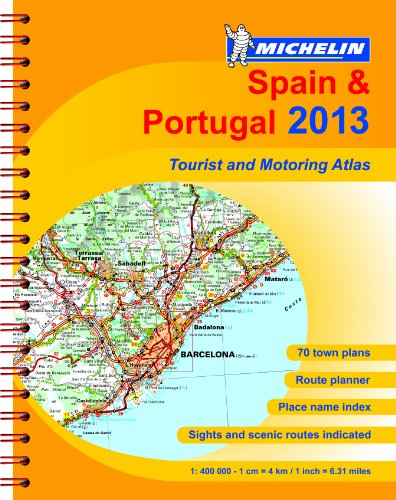 Spain & Portugal By Michelin