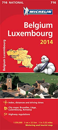 Belgium & Luxembourg 2014 By Michelin