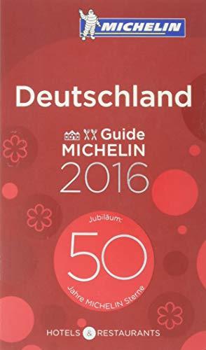 Michelin Red Guide Deutschland 2016 By Michelin
