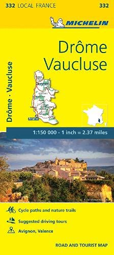 Drome, Vaucluse - Michelin Local Map 332 By Michelin