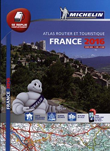 France 2016 Atlas - A4 Multiflex By Michelin