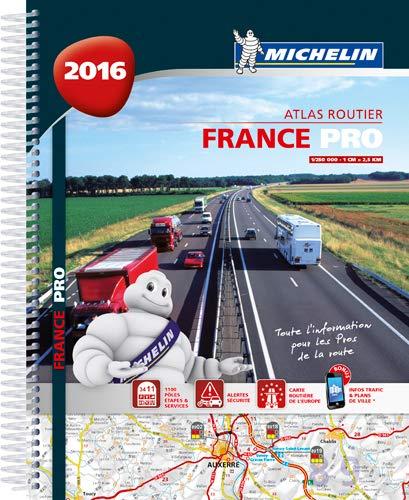 France Pro 2016 - Trucker Spiral Atlas By Michelin
