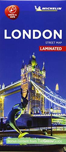 London - Michelin City Map 9201 By Michelin