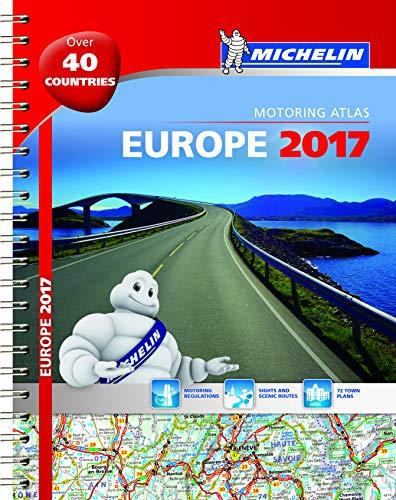Michelin Europe 2017 Atlas By michelin