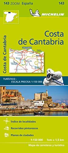 Costa de Cantabria - Zoom Map 143 By Michelin