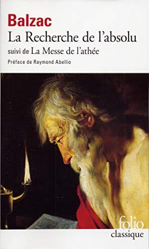 La recherche de l'absolu/La messe de l'athee By Honore de Balzac