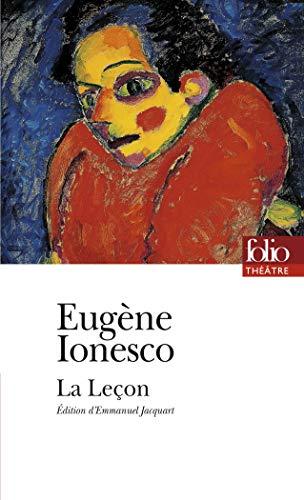 La lecon By Eugene Ionesco
