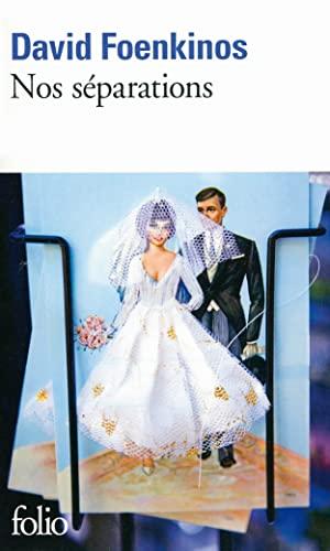 Nos separations By David Foenkinos