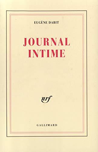Journal intime 1928-1936 By Eugène Dabit
