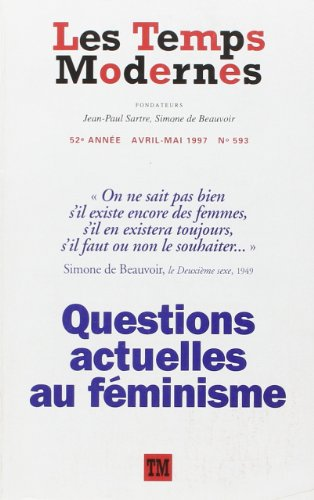 LES TEMPS MODERNES 593 (AVRIL-MAI 1997) By COLLECTIFS GALLIMARD