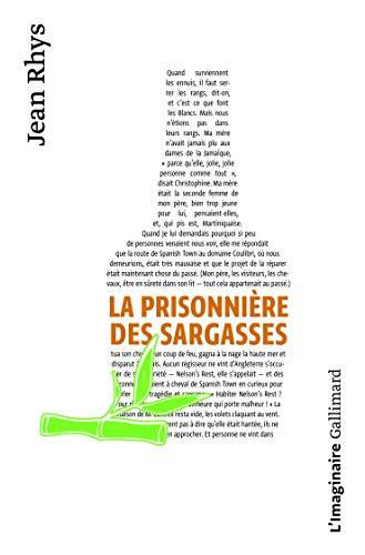 La Prisonniere DES Sargasses By J Rhys