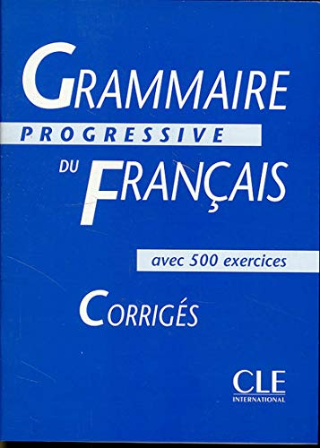 Grammaire Progressive Du Francais By Maia Gregoire