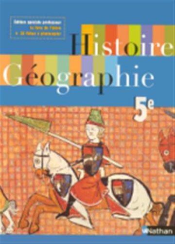 Histoire Geographie Cinquième Speciale Professeur 2005 By collectif