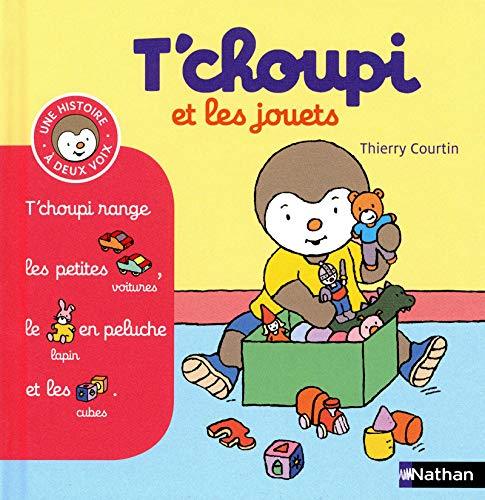 T'choupi et les jouets By Thierry Courtin