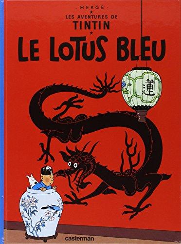 Lotus bleu By Herge