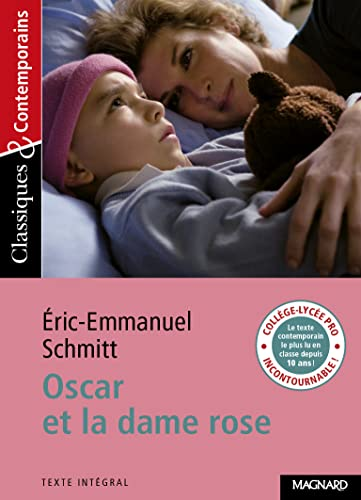 Oscar Et La Dame Rose By Eric Emmanuel Schmitt Used 9782210754904 World Of Books