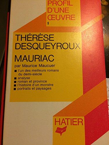 """Therese Desqueyroux "" par Maurice Mauceur"