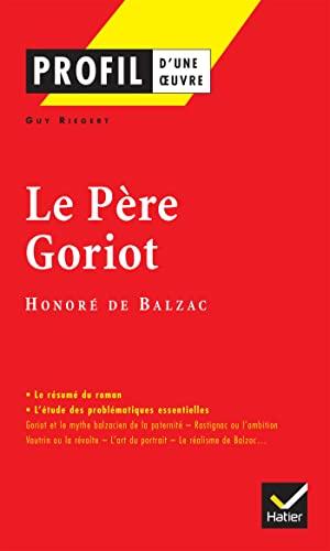 Profil d'une oeuvre par Honore de Balzac