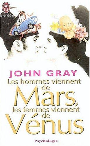 Hommes Mars Femmes Venus By John Gray