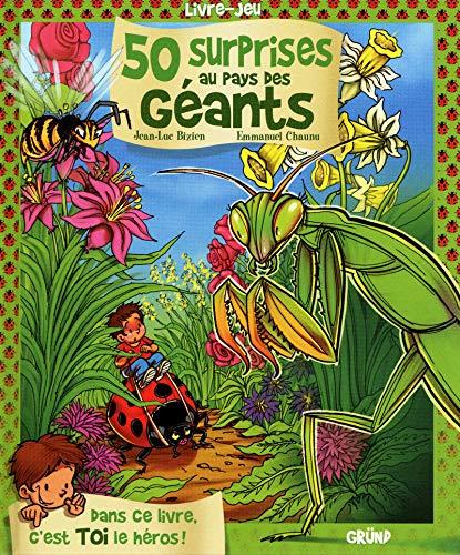 50 Surprises au pays des géants By Jean-Luc Bizien