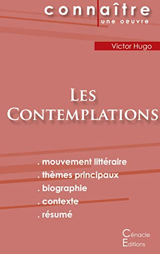 Fiche de lecture Les Contemplations de Victor Hugo (Analyse litteraire de reference et resume complet) By Victor Hugo