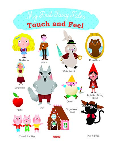My First Fairy Tales - Touch and Feel By Marion Cocklico
