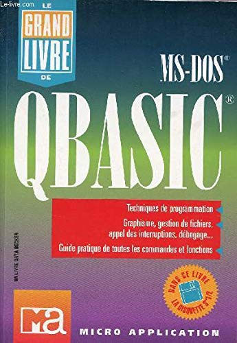 Qbasic MS-Dos By Micro Application