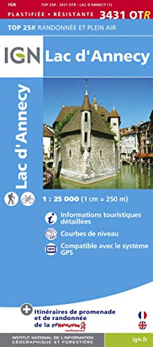 Lac d'Annecy By Institut Geographique National