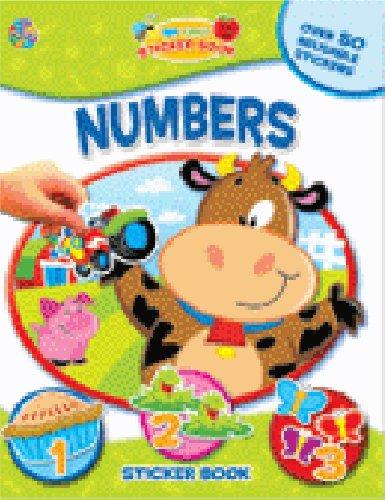 Numbers - My First Sticker Book (My First Sticker Book Series)