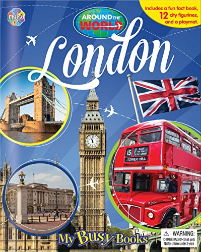 London - Around the World My Busy Book By Phidal Publishing Inc.