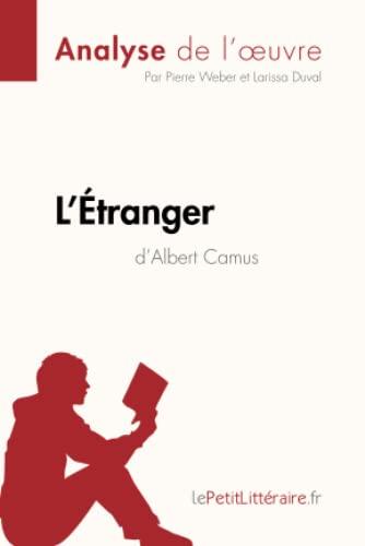 L'etranger d'Albert Camus par Pierre Weber