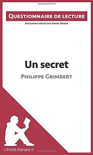 Un secret de Philippe Grimbert par Pierre Weber