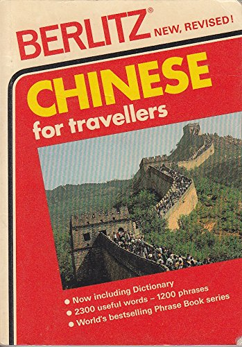 Berlitz Chinese Phrase Book By Berlitz Guides