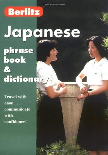 Japanese Phrase Book and Dictionary By Berlitz