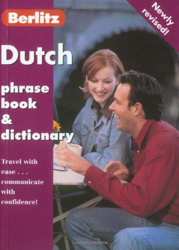 Dutch Phrase Book and Dictionary By Berlitz