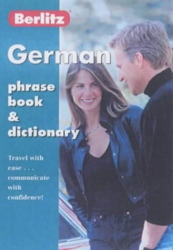 German Phrase Book By Berlitz Guides