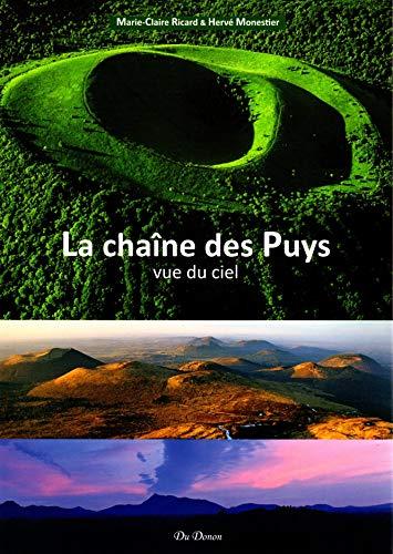 La chaîne des Puys vue du ciel
