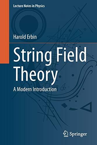 String Field Theory By Harold Erbin