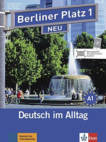 berliner platz neu lehr und arbeitsbuch 1 mit 2 cds zum by martins cidalia 9783126060257. Black Bedroom Furniture Sets. Home Design Ideas