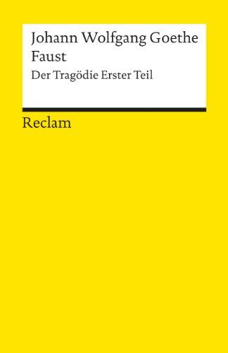 Faust by Johann Wolfgang von Goethe