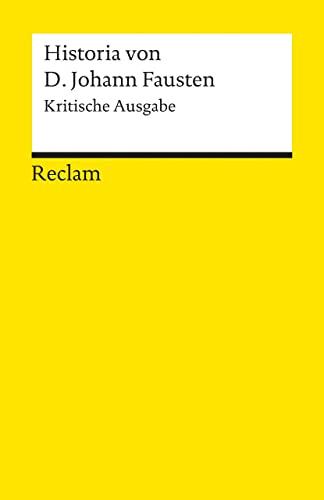 Historia Von D. Johann Fausten von K. Ausgabe