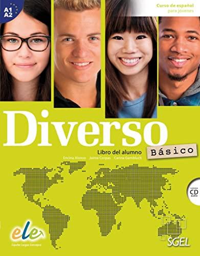 Diverso B1 Básico Kursbuch mit MP3-CD By Carina Gambluch