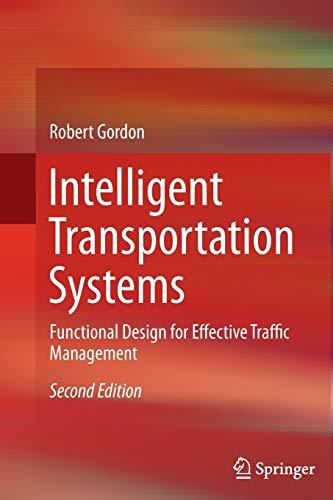 Intelligent Transportation Systems By Robert Gordon