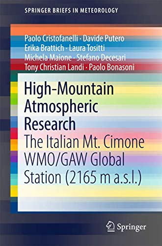 High-Mountain Atmospheric Research By Paolo Cristofanelli