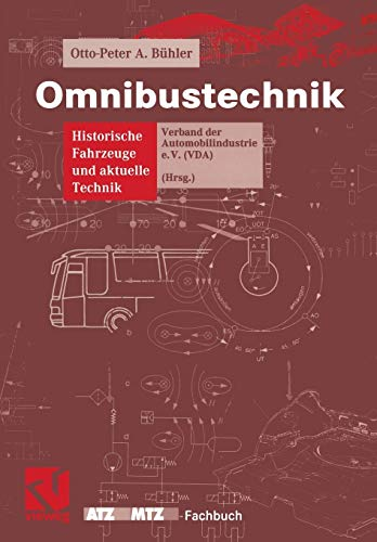Omnibustechnik By Otto-Peter A Buhler