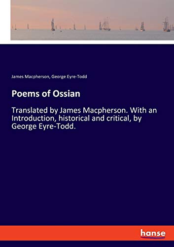 Poems of Ossian By James MacPherson