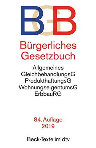 BGB - Burgerliches Gesetzbuch by Various authors